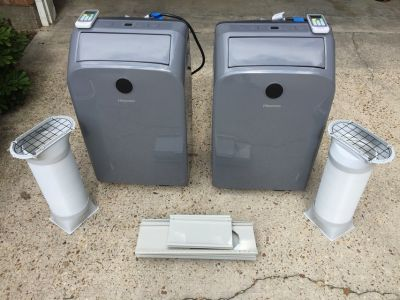 Two (2) Portable Air Conditioning Units