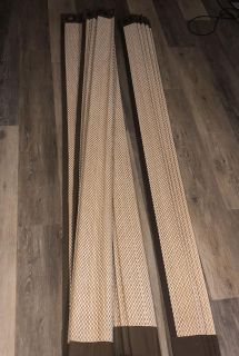 Pier 1 Bamboo Curtains (set of 3)