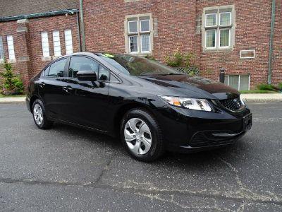 2015 Honda Civic LX (Crystal Black Pearl)