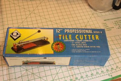 """12"""" Professional Tile cutter by Qep. New never used, still in box."""