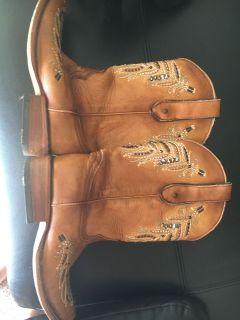Cowboy boots Coral 8 1/2