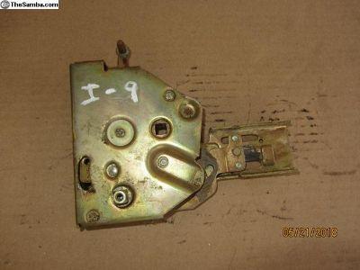 vanagon sliding door locking mechanism I-9