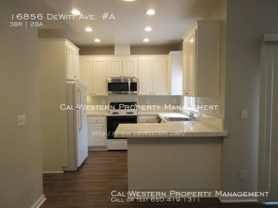 Newly Remodeled & Spacious Townhouse!