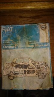 Sell Haynes Workshop Manual Service Repair Book. Fiat 128. 1972-1978. motorcycle in Golden Valley, Arizona, United States, for US $4.90