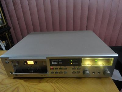 VINTAGE 1981 DUAL C 822 AUTO REVERSE SINGLE CASSETTE TAPE DECK
