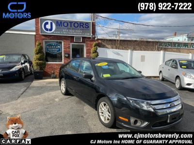 2012 Ford Fusion S (Black)