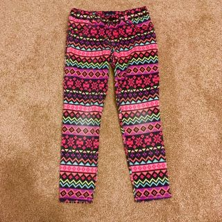 Patterned pants- girls 6