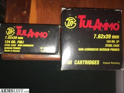 For Sale/Trade: 7.62X39 TulAmmo in Ammo Cans