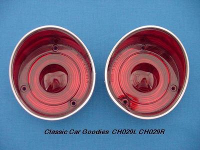 Find 1971 Chevy Chevelle Tail Light Lenses. (2) Brand New! motorcycle in Aurora, Colorado, US, for US $26.99