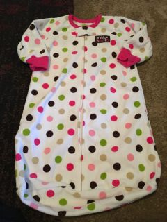 Just one you 0-6m fleece sleepsack - ppu (near old chemstrand & 29) or PU @ the Marcus Pointe Thrift Store (on W st)