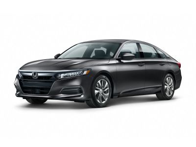 2019 Honda Accord LX (Crystal Black Pearl)