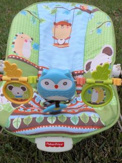 fisher price owl bouncer