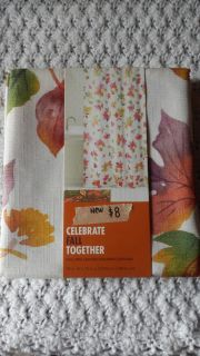 NEW Fall Shower Curtain