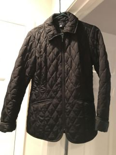 Like new Tommy Hilfiger black quilted jacket