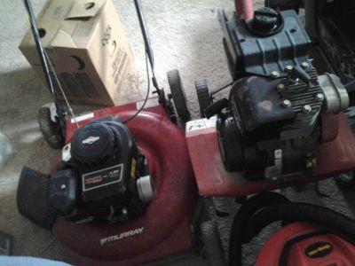 Lawn mower and Tiller