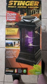 New in box stinger insect zapper cordless