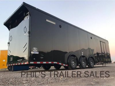 2020 32' LOADED CONTINENTAL CARGO BLACKOUT RACE TRAILER PH
