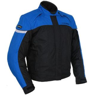 Buy Tourmaster Jett 3 Blue XL Textile Motorcycle Street Riding Jacket Xlarge motorcycle in Ashton, Illinois, US, for US $152.99