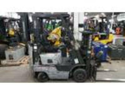 2012 LP Gas Nissan MCP1F1A15LV Cushion Tire 4 Wheel Sit Down Indoor Warehouse