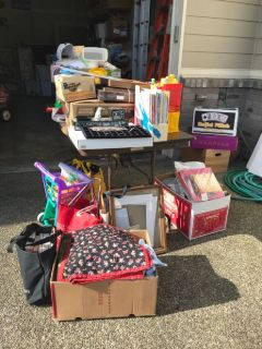 May 25 , Rain or Shine, Downsizing, Moving Sale