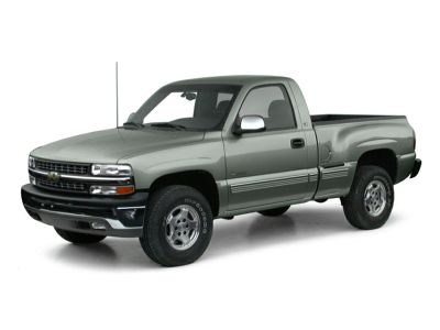 2001 Chevrolet Silverado 1500 Base (Light Pewter Metallic)