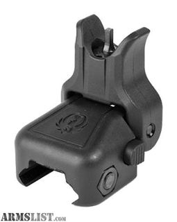 For Sale: Ruger 90414 Rapid Deploy Front Sight AR-15 Polymer Black. no taxes, no credit card fees,Flat rate shipping is $14.95 for unlimited accessories