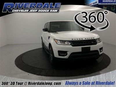2014 Land Rover Range Rover Sport Supercharged (Fuji White)