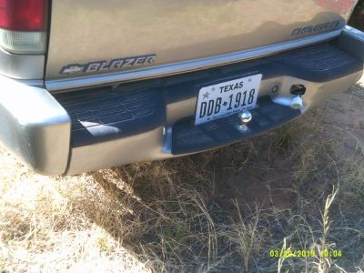 2001 Chevrolet Blazer Rear Bumper Assembly (PARTING OUT)