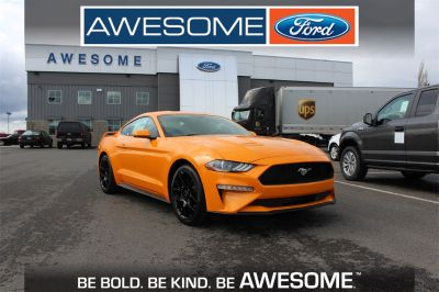 2018 Ford Mustang COOPE (orange)