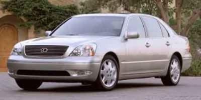 2002 Lexus LS 430 Base (Silver)