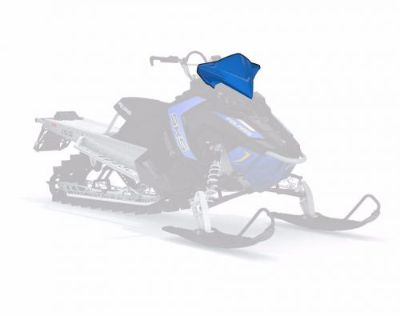 Find Polaris AXYS Mountain Mid Snowmobile Windshield Color: Blue Part # 2881053 motorcycle in North Adams, Massachusetts, United States, for US $109.99
