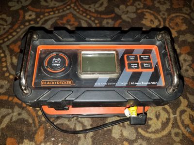 Black and decker battery box