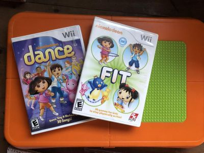 Kids Wii Fit with games