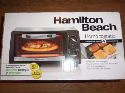 new 4-slice toaster oven