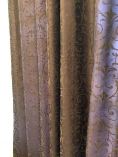 Two 118 curtain panels