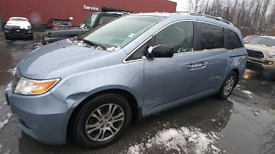2012 Honda Odyssey EX-L w/DVD (Alabaster Silver Metallic)