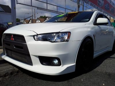 2008 Mitsubishi Lancer Evolution MR (Wicked White Metallic)