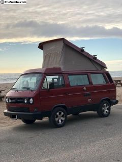 Rare Automatic 1988 VW Vanagon Westfalia Camper