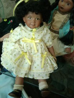 "14"" Porcelain Doll"