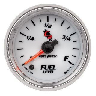 "Purchase Auto Meter 7114 C2 2 1/16"" Electric Fuel Level Gauge Programmable motorcycle in Greenville, Wisconsin, US, for US $129.18"