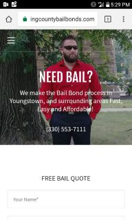 Surety Bail Bond Agents near Youngstown Ohio