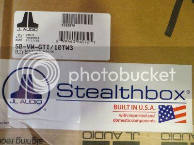 MKV Golf Stealthbox | Brand New | $450 Shipped