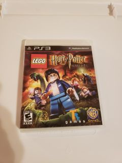 Ps3 Lego Harry Potter Years 5-7 Game