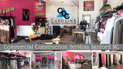 Commercial Construction Services Sanford NC