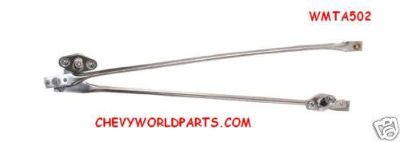 Find 66 67 CHEVELLE WIPER MOTOR TRANSMISSION ARMS 1966 1967 motorcycle in Bryant, Alabama, US, for US $119.95
