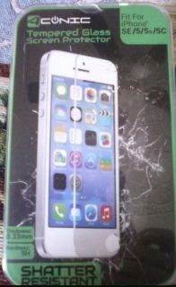 A conic brand Tempered glass screen protector