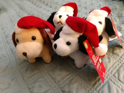"""3"""" plush puppy with sounds"""