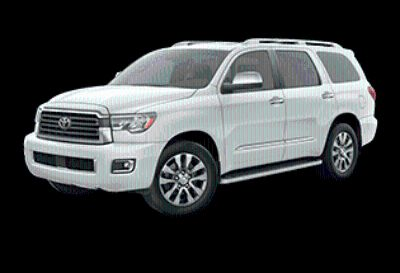 2019 Toyota Sequoia Limited (Super White)