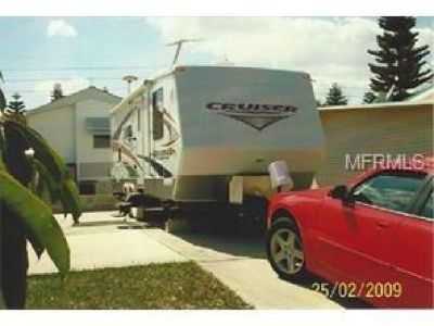 GREAT NEW PRICE!! RV lot with RV and Shed included.