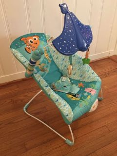 Disney Baby Finding Nemo Bouncer Seat - See & Swim